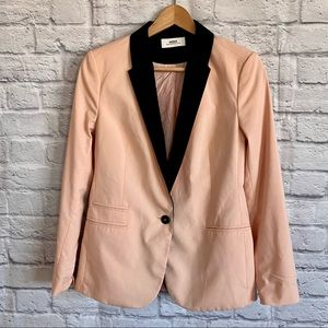 MEXX METROPOLITAN Blush Pink Black Blazer